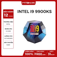 CPU CORE I9 9900KS GEN 9 NEW BOX CHÍNH HÃNG - SPECIAL EDITION