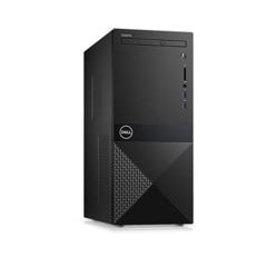 MÁY BỘ DELL Vostro 3670 Mini Tower ,Intel Core i3-9100 (3.60 GHz,6 MB),4GB RAM,1TB HDD,DVDRW,WL+BT,Keyboard & Mouse,McAfee eCard,Ubuntu,1Yr NEW
