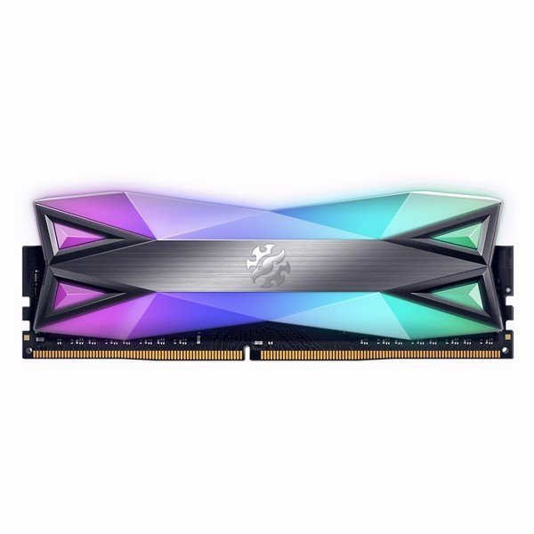 RAM DDR4 16GB ADATA XPG SPECTRIX D60 BUSS 3600 TẢN NHIỆT TUNGSTEN GREY RGB (KIT 2*8GB)