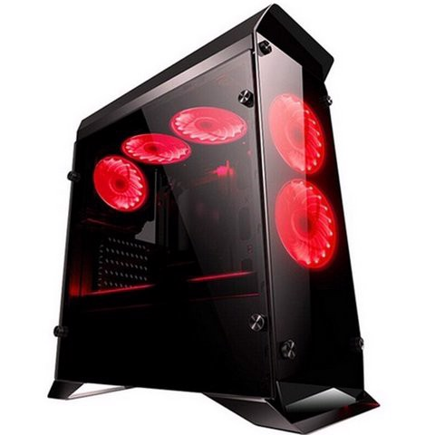 Case Infinity Hyperion Gaming - Side Tempered Glass