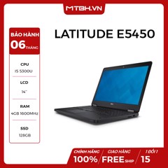 LAPTOP DELL LATITUDE E5450 I5 5300U , RAM 4GB, SSD 128GB LIKE NEW FULL BOX BH 06TH