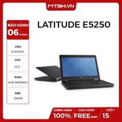 LAPTOP DELL LATITUDE E5250 I5 6300U, RAM 4GB , SSD 128GB LIKE NEW FULL BOX BẢO HÀNH 06TH