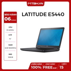 LAPTOP DELL LATITUDE E5440 I5 4200U , RAM 4GB , SSD 128GB LIKE NEW FULL BOX BẢO HÀNH 06TH