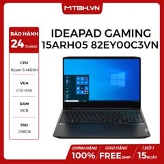 LAPTOP LENOVO IDEAPAD GAMING 3 15ARH05 82EY00C3VN R5-4600H | VGA GTX 1650 4GB | 8GB RAM | 256GB SSD | 15.6'' FHD | Win 10