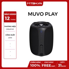 LOA BLUETOOTH CREATIVE MUVO PLAY ( ĐEN )