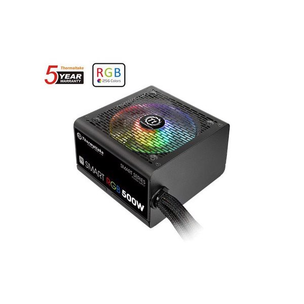 PSU THERMALTAKE 500W SMART RGB PLUS WHITE