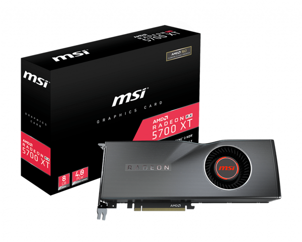 VGA MSI RX 5700 XT 8GB RADEON NEW