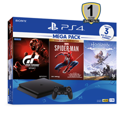 Máy Chơi Game Sony Playstation 4 Slim 1TB MegaPack 3