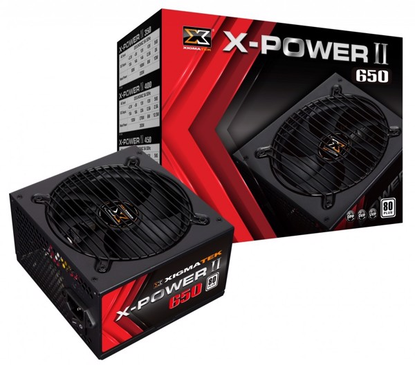 PSU XIGMATAKE 600W X-POWER II 650 (EN42463) - 80PLUS WHITE Còn BH