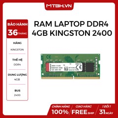 RAM LAPTOP DDR4 4GB KINGSTON BUSS 2400