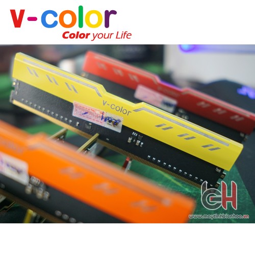 RAM DDR4 8GB V-COLOR 2133Mhz LED ĐỎ