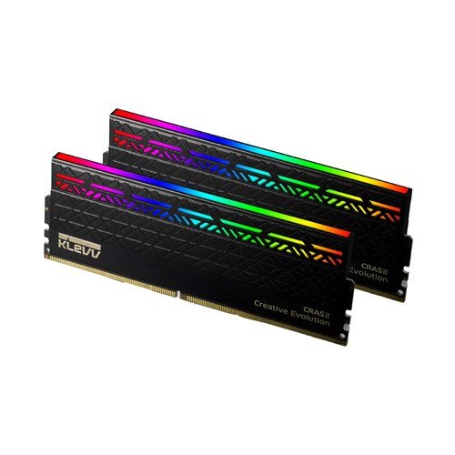 RAM DDR4 8GB KLEVV CRASII RGB BUS 3200Mhz BLACK