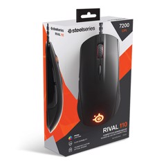 CHUỘT STEELSERIES RIVAL 110 MATTLE BLACK
