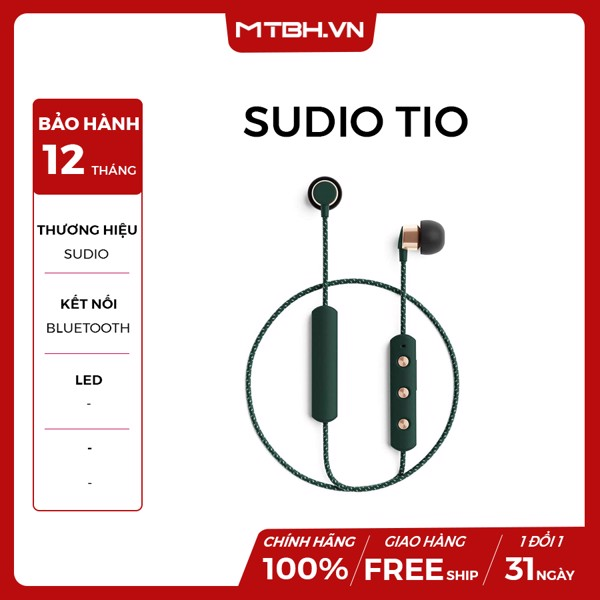 TAI NGHE TRUE WIRELESS SUDIO TIO