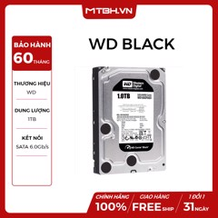HDD WD 1TB BLACK