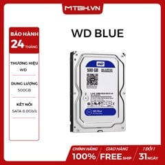 HDD WD 500GB RENEW BH 24TH