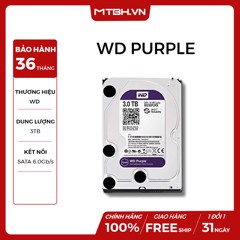 HDD WD 3TB PURPLE
