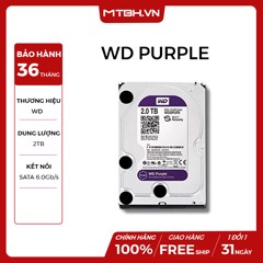 HDD WD 2TB PURPLE