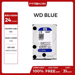 HDD WD 3TB BLUE