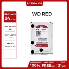 HDD WD 4TB RED (WD40EFAX)
