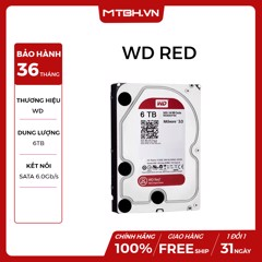 HDD WD 6TB RED