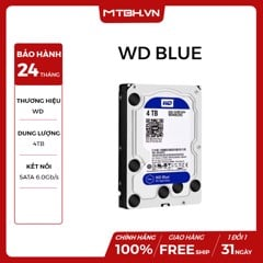HDD WD 4TB BLUE