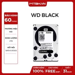 HDD WD 2TB BLACK