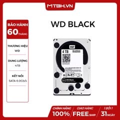 HDD WD 4TB BLACK