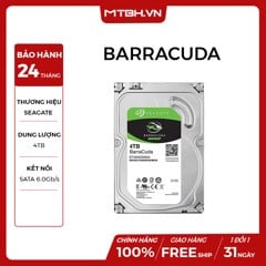 HDD SEAGATE 4TB BARRACUDA (ST4000DM004)