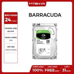 HDD SEAGATE 3TB BARRACUDA (ST3000DM007)