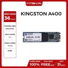 SSD KINGSTON 120GB A400 (CHUẨN M.2)
