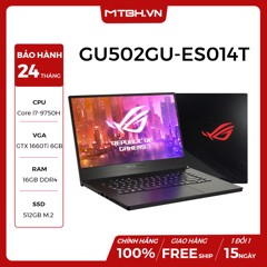 LAPTOP GAMING ASUS ROG ZEPHYRUS M GU502GU-ES014T Geforce GTX 1660Ti 6GB Intel Core i7 9750H 16GB 512GB 15.6″ FHD IPS 144Hz 3ms Perkey RGB Win 10