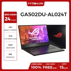 LAPTOP GAMING ASUS ROG Zephyrus G GA502DU-AL024T Geforce GTX 1660Ti MaxQ 6GB Ryzen 7-3750H 8GB 512GB 15.6″ FHD IPS 120Hz 3ms Win 10