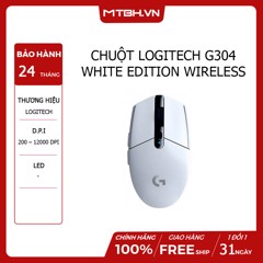 CHUỘT LOGITECH G304 WHITE EDITION WIRELESS