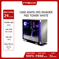 CASE ADATA XPG INVADER MID TOWER WHITE