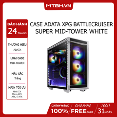 CASE ADATA XPG BATTLECRUISER SUPER MID-TOWER WHITE