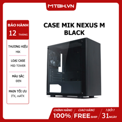 CASE MIK NEXUS M BLACK