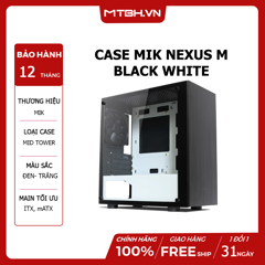 CASE MIK NEXUS M BLACK WHITE