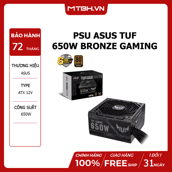 PSU ASUS TUF 650W BRONZE GAMING