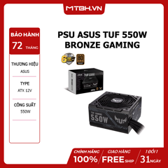 PSU ASUS TUF 550W BRONZE GAMING