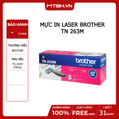 MỰC IN LASER BROTHER TN 263M