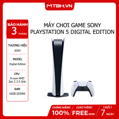 Máy Chơi Game Sony Playstation 5 Digital Edition ( Japan )