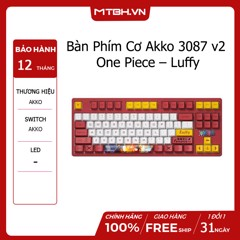 Bàn Phím Cơ Akko 3087 v2 One Piece – Luffy (Akko switch v2)