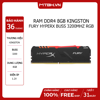RAM DDR4 8GB Kingston Fury HyperX Buss 3200Mhz RGB