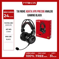 TAI NGHE ADATA XPG PRECOG ANALOG GAMING BLACK