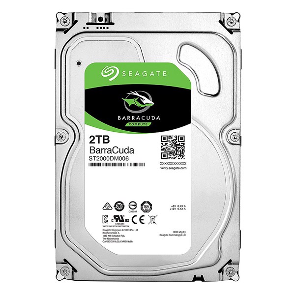 HDD SEAGATE 2TB BARRACUDA (ST2000DM006)