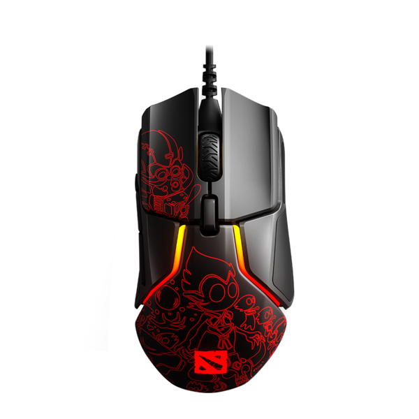 MOUSE STEELSERIES RIVAL 600 Dota 2 Edition
