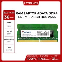 RAM LAPTOP ADATA DDR4 PREMIER 8GB BUS 2666
