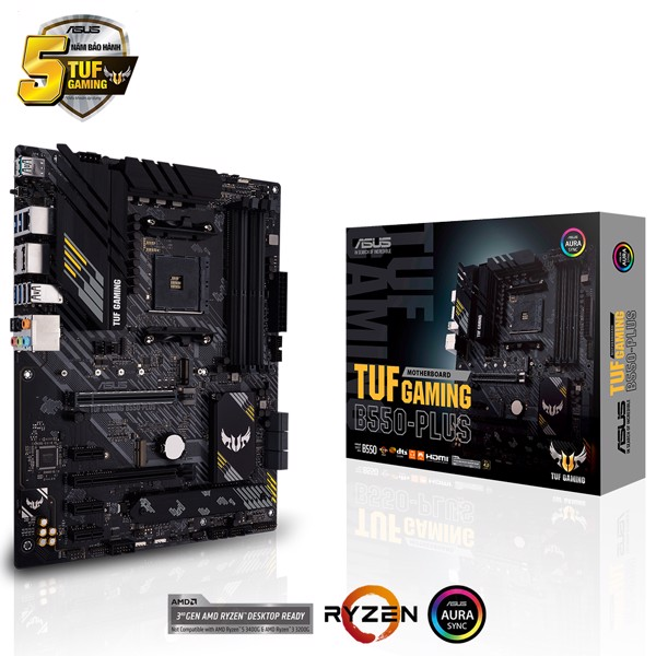 MAIN ASUS TUF B550 - PLUS GAMING (AMD)