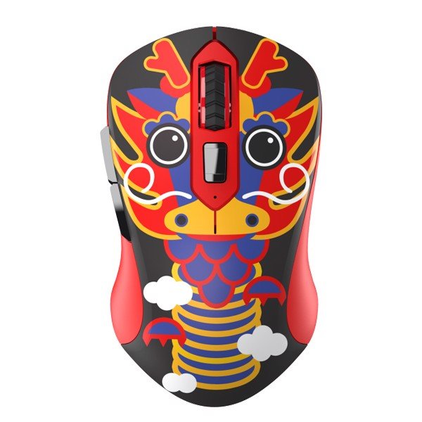 CHUỘT DAREU LM115G MULTI-COLOR DRAGON (Wireless)